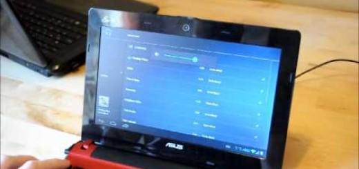 Android 4 ICS na Asus netbooku