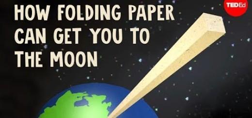 [Zanimljivo] Koliko puta treba saviti papir da bi stigli do Meseca ?