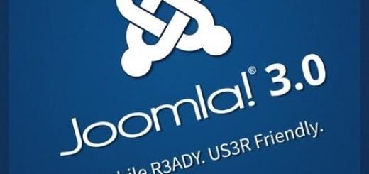 Joomla u verziji 3.0 se konačno pojavila !