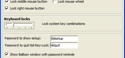 Kako da zaključate tastaturu i miša ?