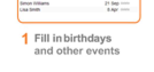 Kako da dobijate obaveštenja o dolazećim rođendanima ?