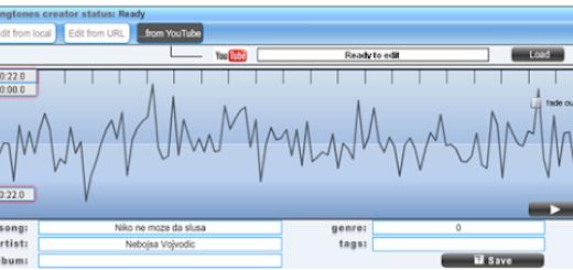 Kako napraviti melodiju za mobilni uz pomoć Youtube klipa?
