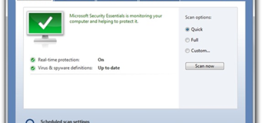 Dostupan Microsoft Security Essentials (MSE) v2.0 Beta