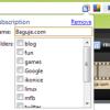 Prijavljivanje RSS-a na Google Reader preko Google Chrome