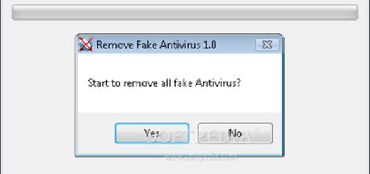 Kako da uklonite lažni antivirus ?