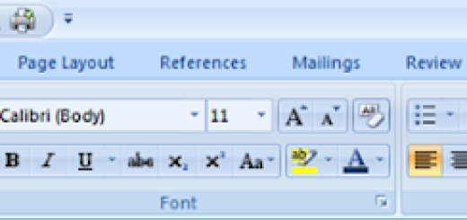 Kako da vratite stari meni u Office 2007 i 2010
