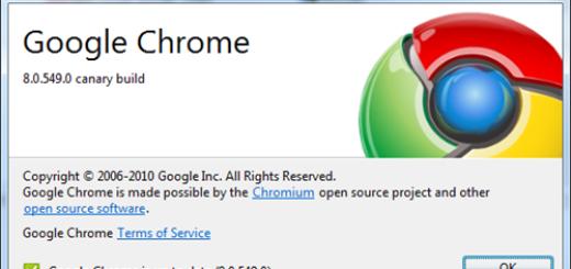 Guglov kanarinac već pod verzijom 8.0