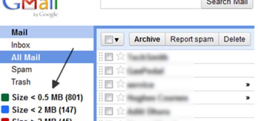 Kako da pronađete sve ogromne poruke u Gmailu ?