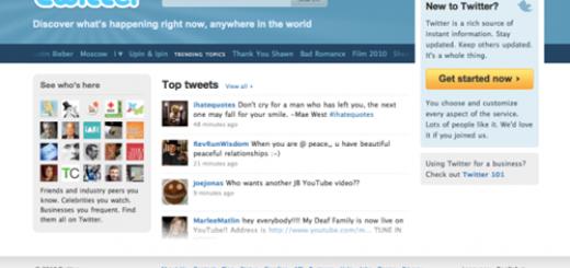 Novi dizajn početne stranice twittera