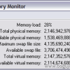 Praćenje potrošnje RAM memorije