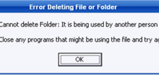 Kako da forsirate brisanje zaključanih ili nedostupnih fajlova