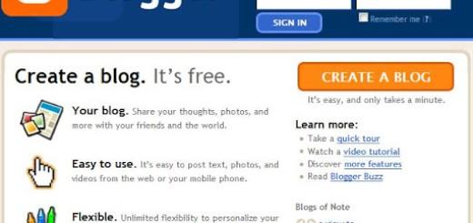 Kako da napravite blog na Blogger sistemu?