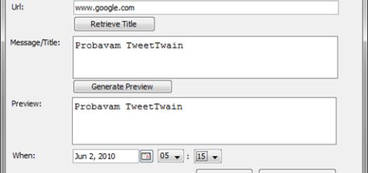 Kako da zakažete twit ?