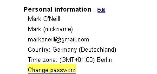 Kako da promenite vašu Gmail šifru ?