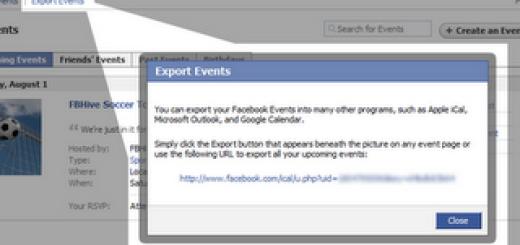 Kako da dodate Facebook događaje u Google kalendar ?