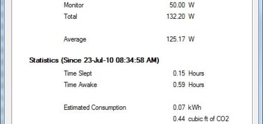 Joulemeter prati potrošnju električne energije vašeg računara