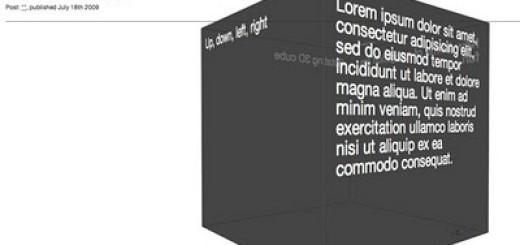 Animirana 3D kocka uz pomoć CSS3