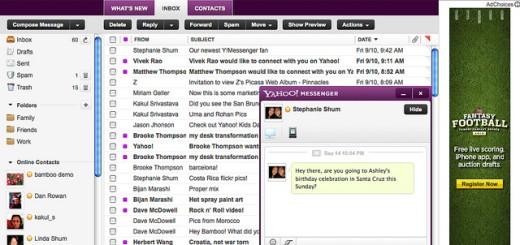Uskoro i Yahoo mail menja dizajn