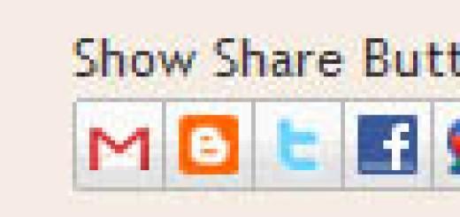 Kako da dodate Blogger Share Buttons u vašu Blogger temu