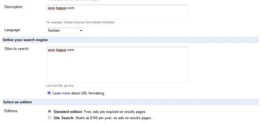Kako da dodate Google CSE na Blogger sa rezultatima u istom prozoru
