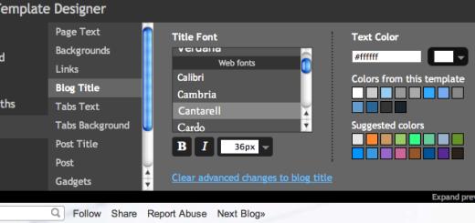 Blogger dodao 40 novih fontova