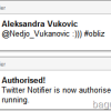 Twitter notifikacije za Google Chrome veb brauzer