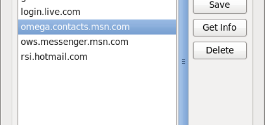 Pidgin MSN Certificate error – omega.contacts.msn.com