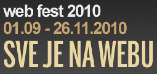 Završen WebFest i objavljeni pobednici