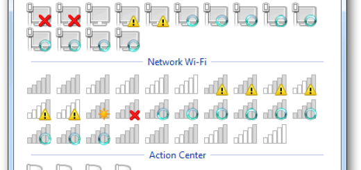 [Windows 7] Kako da promenite ikonice za zvuk, mrežu i wireless