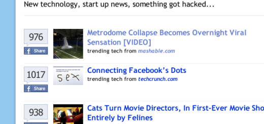 Spisak najviše podeljenih linkova na Facebooku