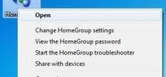 Uklanjanja Homegroup ikonice na desktopu i u biblioteci – Windows 7