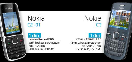 Nova postpejd ponuda uz Nokia telefone