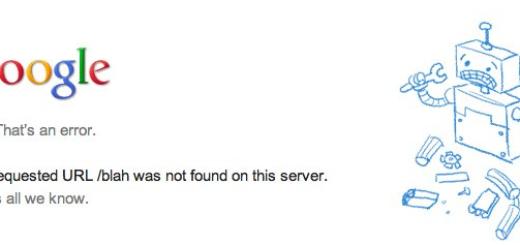 Google ima novu error 404 stranicu