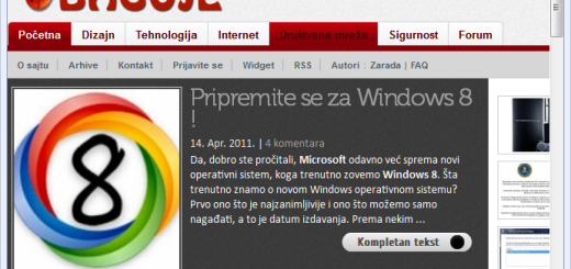 Pretvorite Firefox 4 u Internet Explorer 9