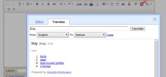 Google prevodilac dostupan u Bloggeru