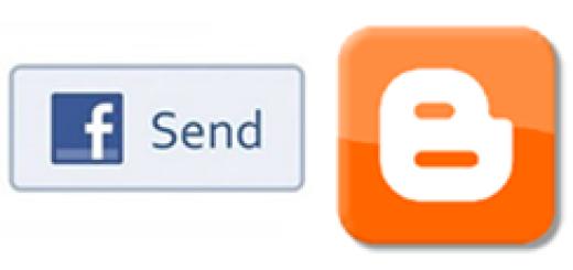 Kako da dodate Facebook send dugme na Blogger blog ?