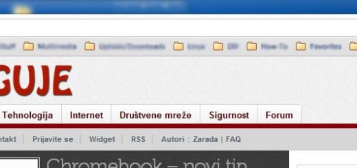 Postavite tabove sa strane u Chrome-u