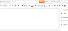 Blogger konačno promenio dizajn
