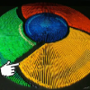 Google Chrominos – Google Chrome logo od domina