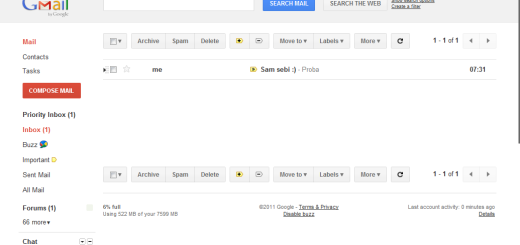 I Gmail spreman za redizajn