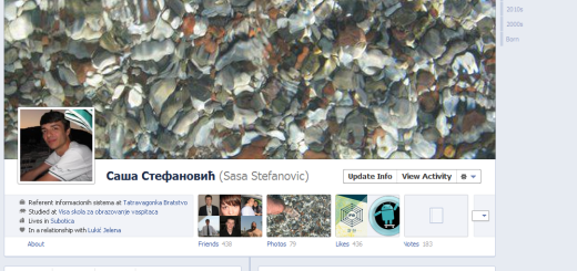 Facebook Timeline dostupan svima !