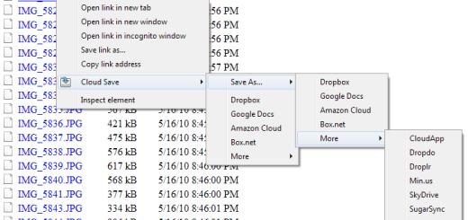 Kako da sačuvate fajlove sa neta direktno u cloud ?