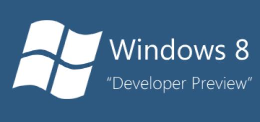 Isprobajte Windows 8 Developer Preview