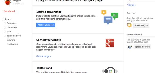 Kako da napravite Google+ stranicu za svoj blog/sajt/firmu ?