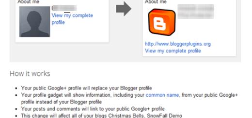 Prebacite svoj Blogger profil na Google+