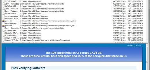 Kako da izlistate 100 najvećih fajlova na računaru ?