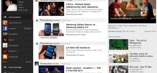 Youtube opet redizajniran
