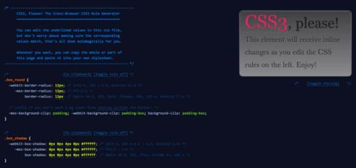 5 korisnih CSS3 generatora