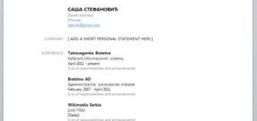 Napravite CV uz pomoć podataka sa Facebook-a
