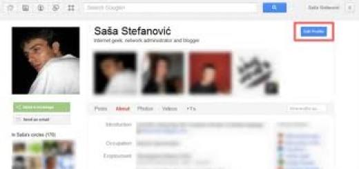 Dodajte nadimak na svoj Google+ profil